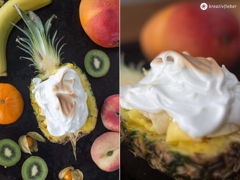 Ananas-Eisbombe-mit-Baiser-Sommerdessert