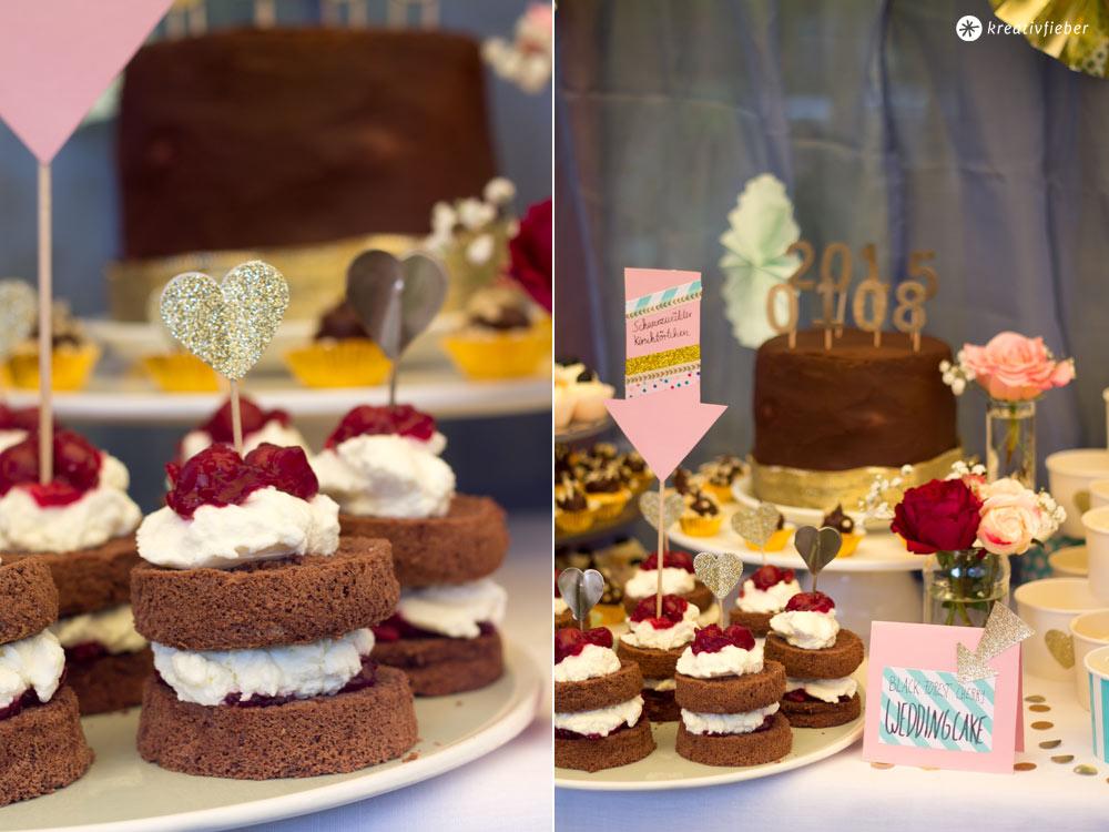 Black Forest Cherry Weddingcake Schwarzwalderkirsch Hochzeitstorte