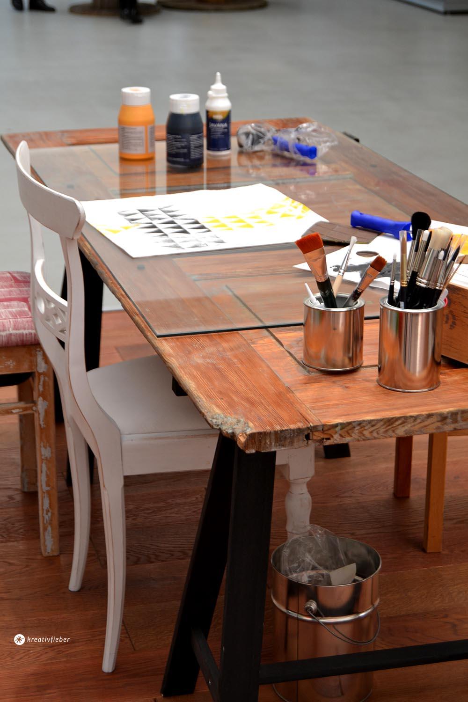 DIY Tisch aus Tür