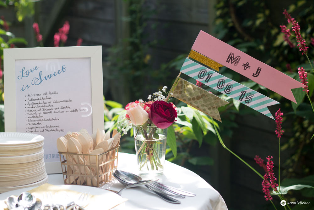 12 Tipps für die Sweet Table Planung und Organisation