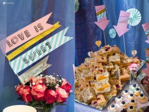Himbeer-Blondies-mit-weißer-Schokolade-und-Mandelsplittern-Sweet-Table-Hochzeit