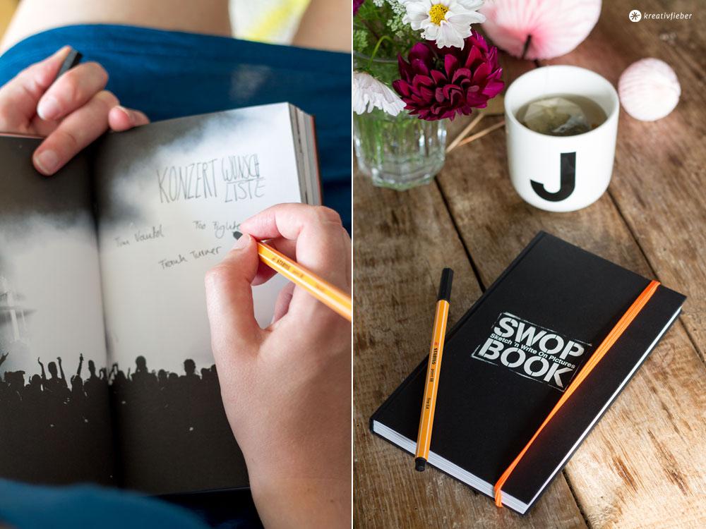 Fundstück: Swop Book von Brandbook