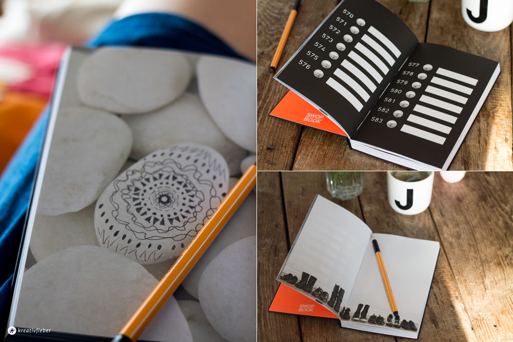 Swop-Book-von-Brandbook---Zeichnen-und-Notizenmachen-auf-Bildern-kreatives-Brainstormen