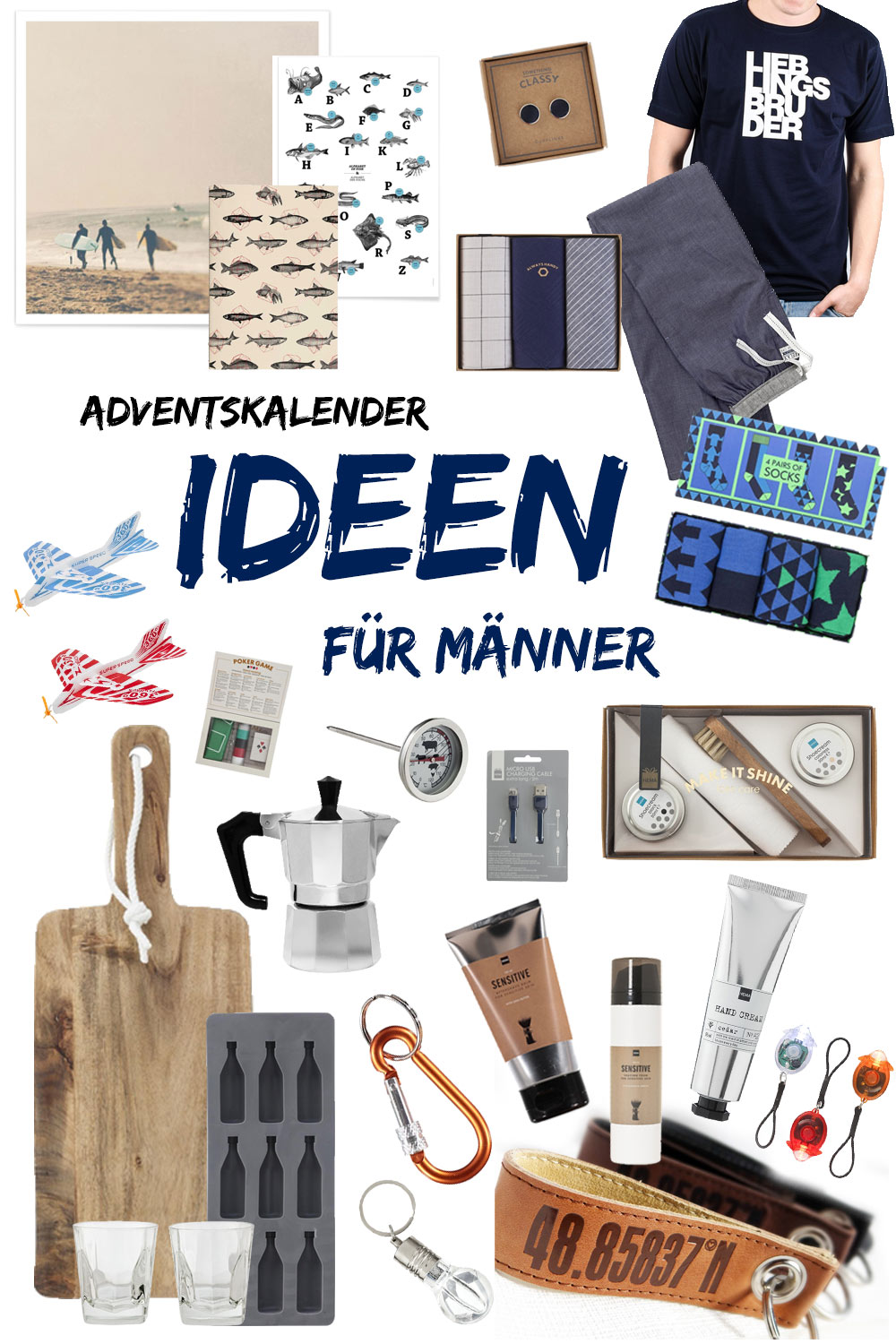 good tolles dekoration adventskalender manner ideen #1: Adventskalender Ideen für Männer