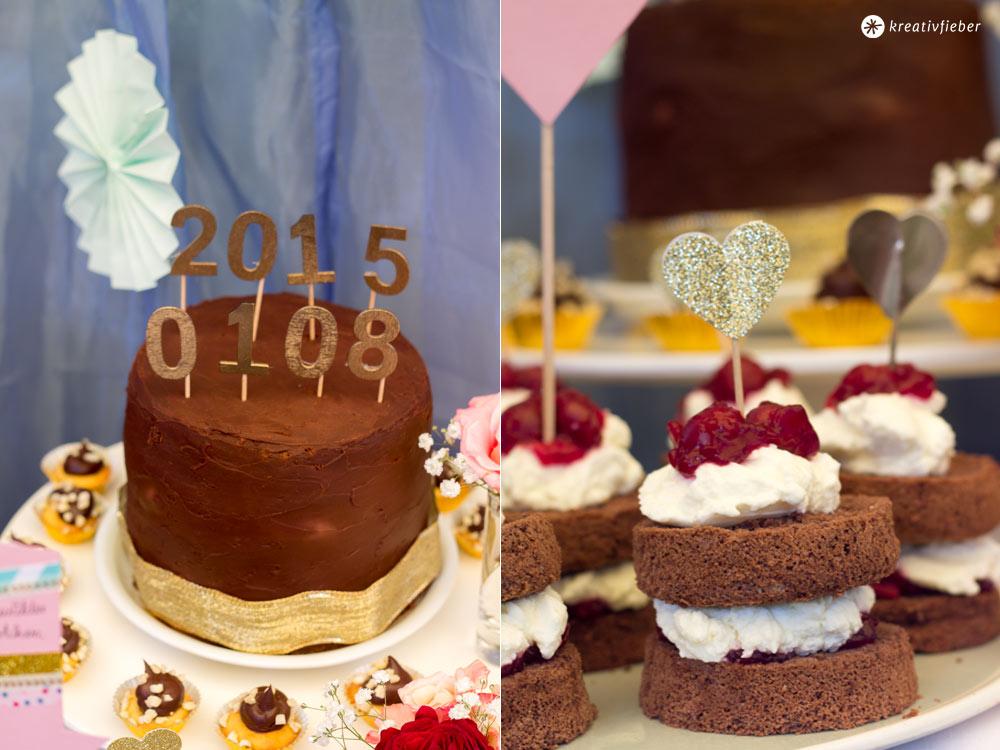 DIY-goldene-Caketopper---Hochzeitsdatum-Caketopper---Herzen-Caketopper-mit-Glitzer---DIY-Sweet-Table