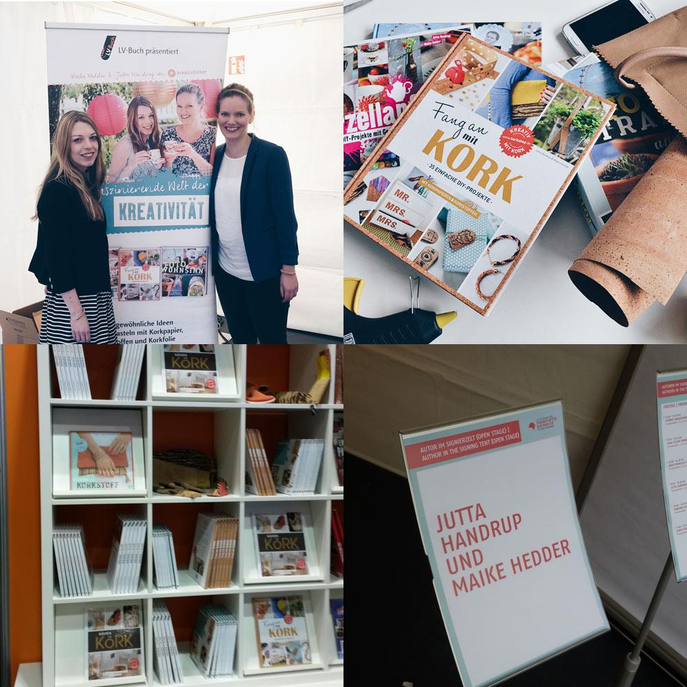 Frankfurter-Buchmesse-2015-Kreativfieber-Jutta-Handrup-und-Maike-Hedder-Fang-an-mit-Kork