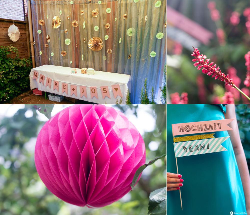 Simple-Hochzeitsgirlande-in-Gold-und-Blush-Sweet-Table-Gartenhochzeit-Deko