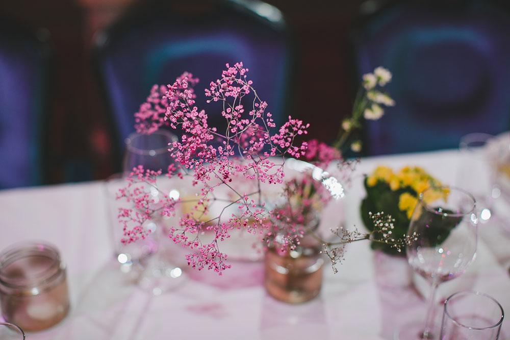 DIY Tischdeko Hochzeit