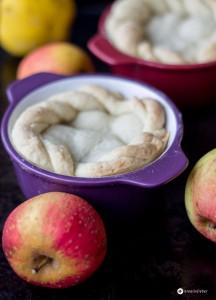 Gedeckte-Apfel-Quitten-Küchlein---Rezept-für-zwei