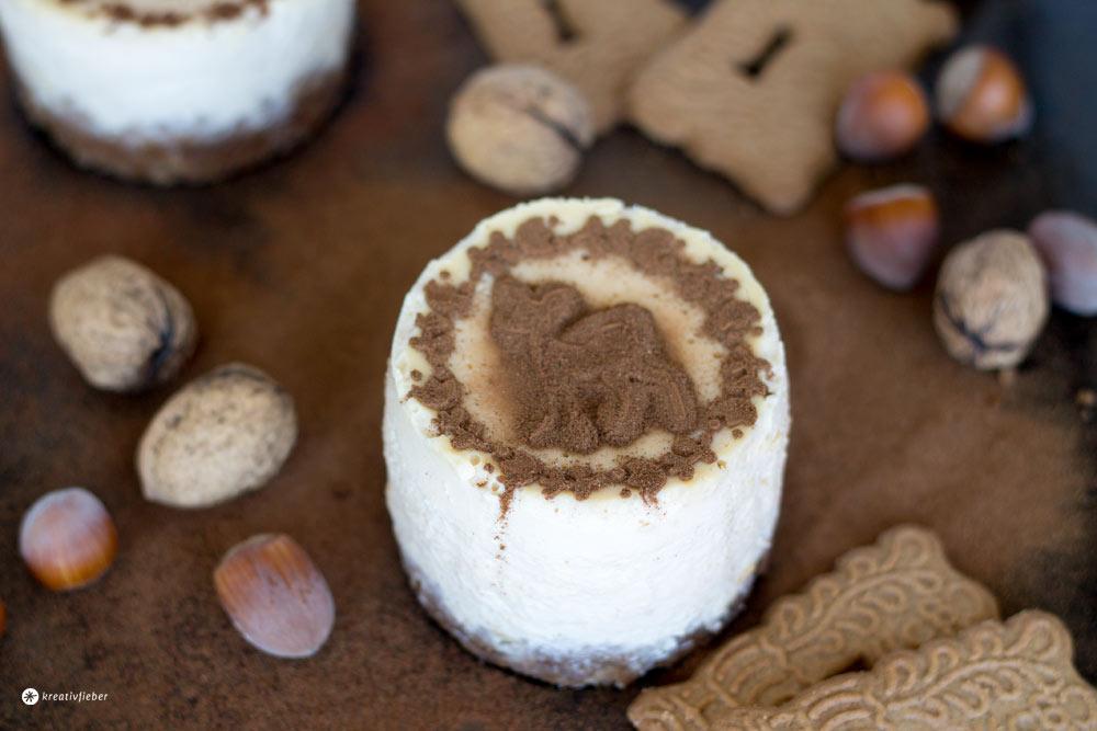 Spekulatius-Karamell-Cheesecake-Törtchen-Rezept