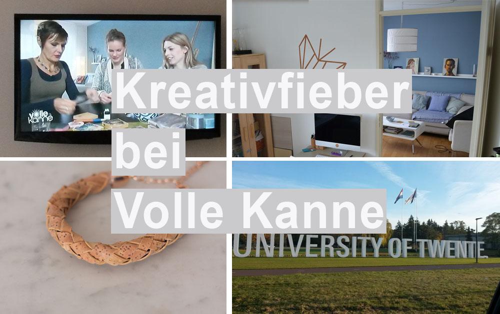kreativfieber Blog Maike und Jutta bei Volle Kanne im ZDF