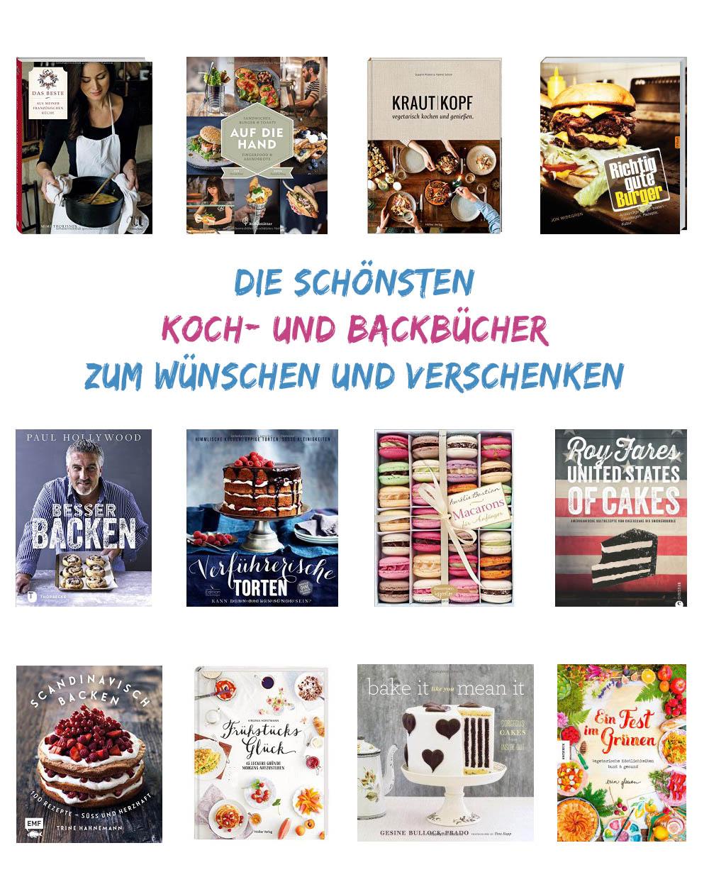 Weihnachtsgeschenke Bücher Kochbuch Backbuch