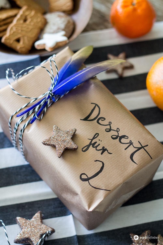Dessert-für-Zwei-verpacken-und-verschicken---Geschenkverpackungsideen-in-Metallic