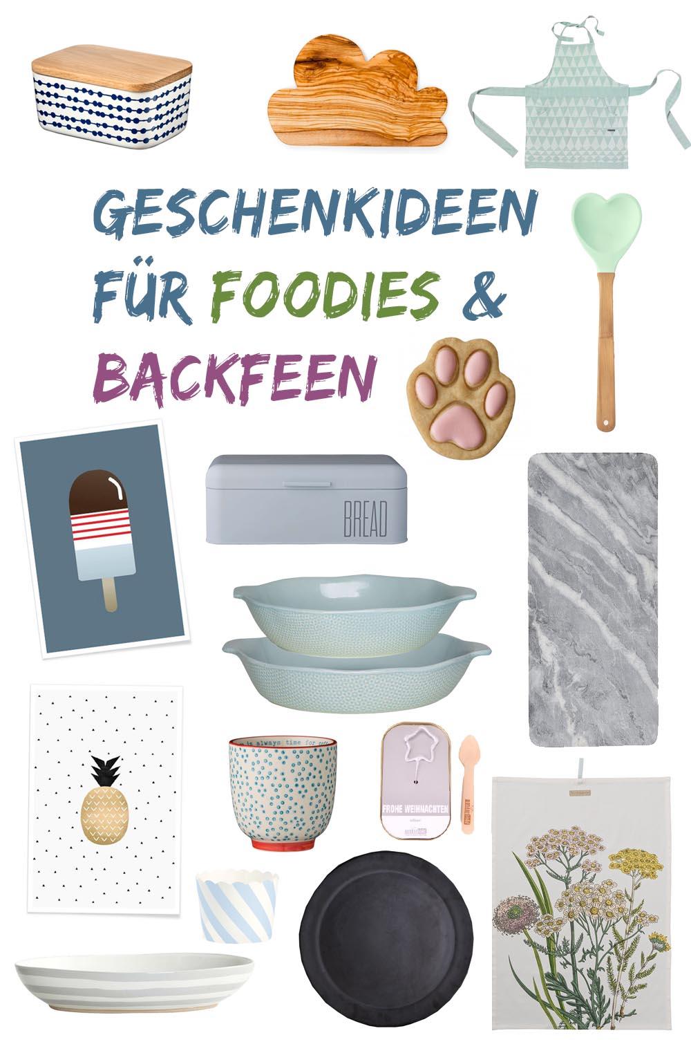 geschenke kochen und backen foodies und backfeen