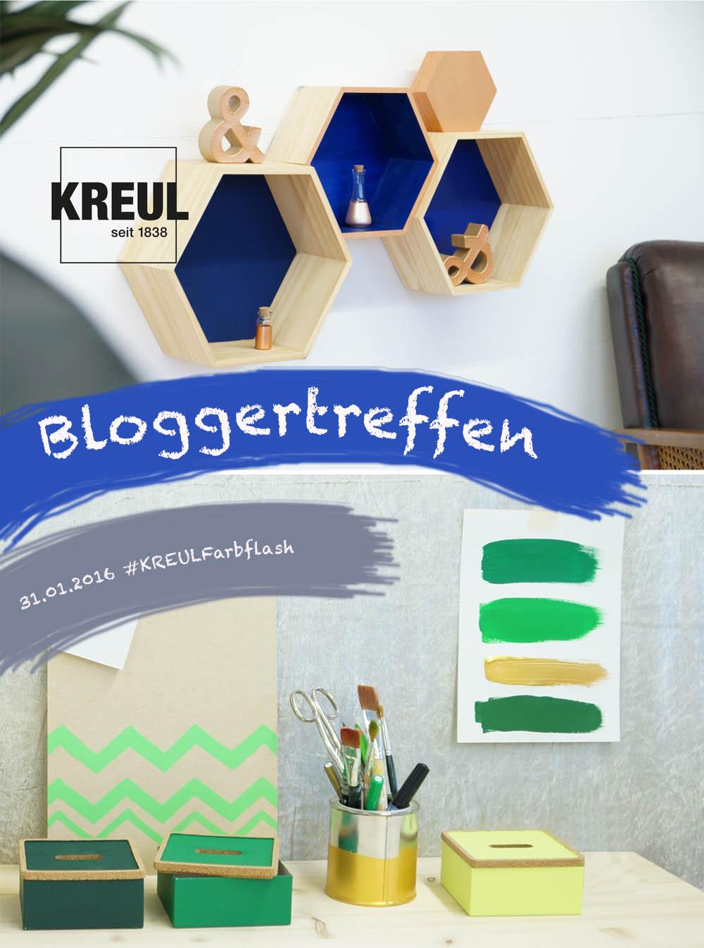Bloggertreffen KREUL Messe Kreativfieber