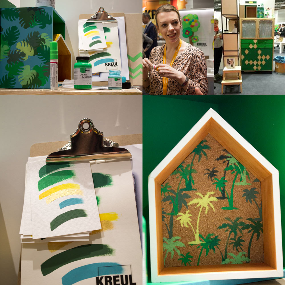 Matte-Acrylfarben-grün-#kreulfarbflash-creativeworld-2016