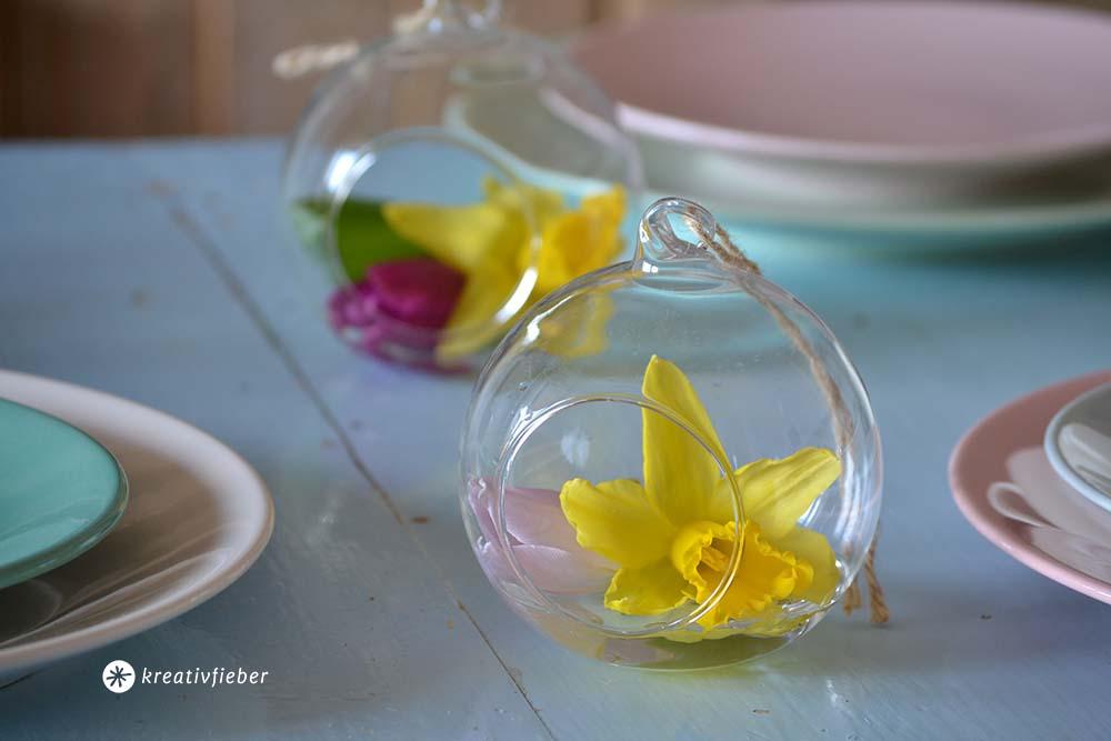 Glaskugeln mit Öffnung zum dekorieren