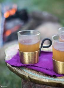 Chai Latte to go - Chaipulver zum Mitnehmen für Unterwegs mischen