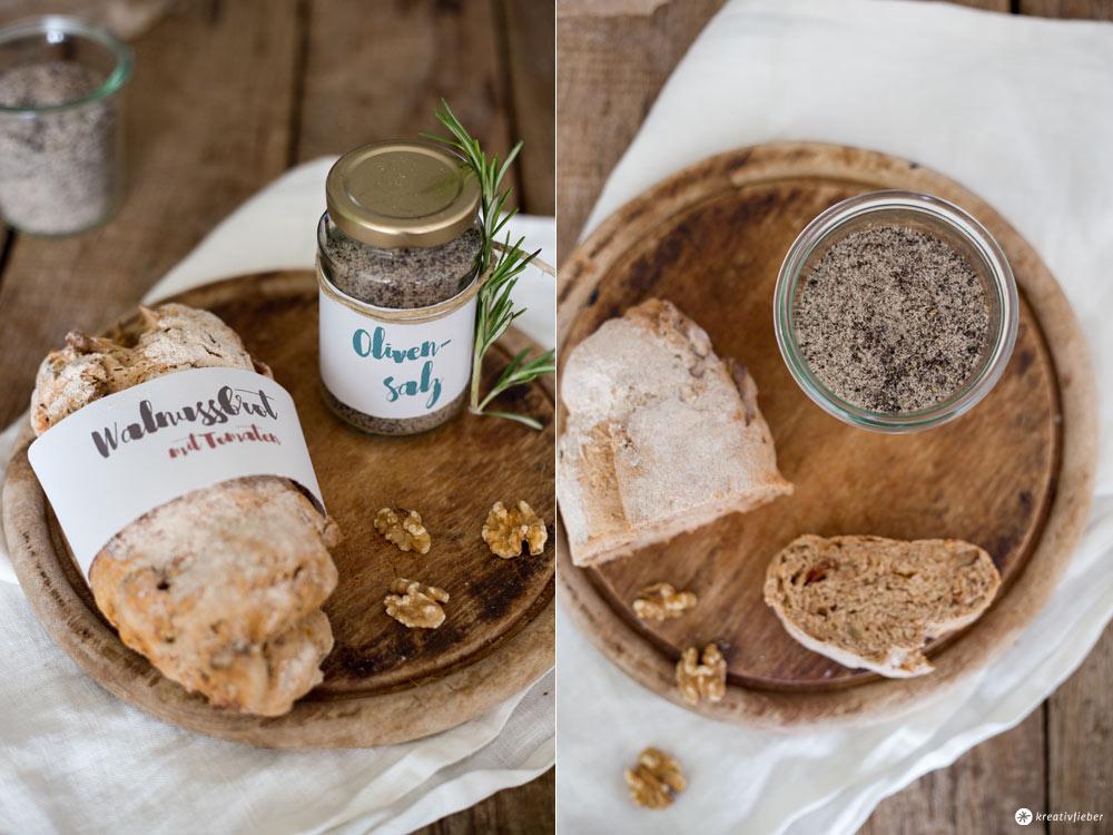 DIY Olivensalz selbermachen - Mitbringsel zur Einweihungsparty oder DIY Gastgeschenk