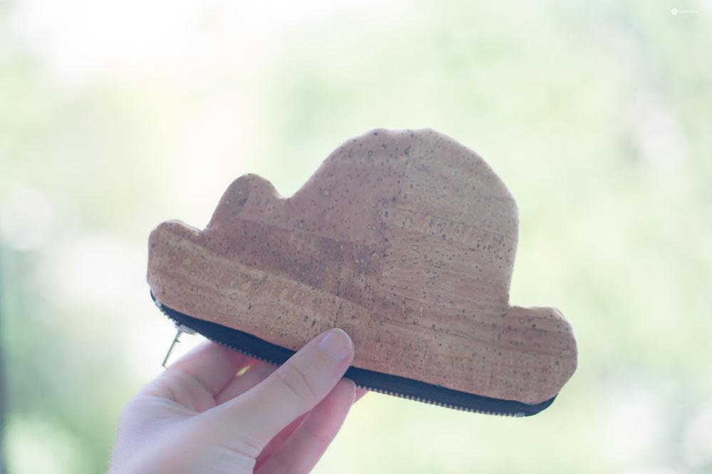 DIY Wolkentasche aus Kork nähen - kleine schnelle DIY Geschenkidee