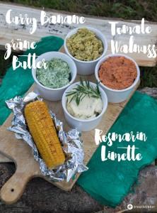 Grillbutter selbermachen - vier verschiedene Rezepte