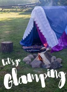 Let's go Glamping - Glamping Rezeptideen Sammlung für Camping, Grillen, Lagerfeuer und Proviant für Unterwegs auf Kreativfieber