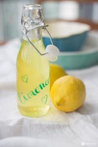 Limoncello selbermachen - Anleitung und Rezept für Zitronenlikör auf Kreativfieber