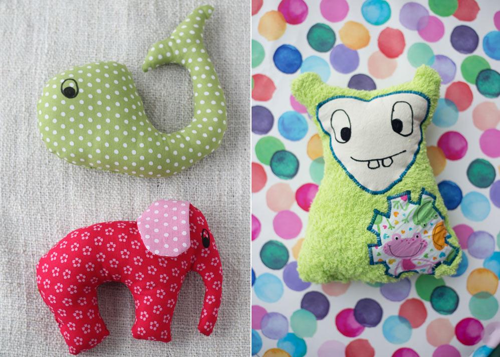 Stofftiere selbernähen - 7 Ideen für schöne DIY Geschenke zur Geburt