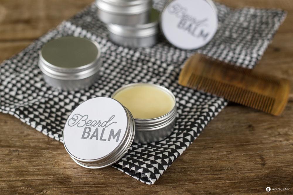 DIY Beard Balm - Bart Balsam selbermachen - Geschenke für Männer - Kosmetik DIY