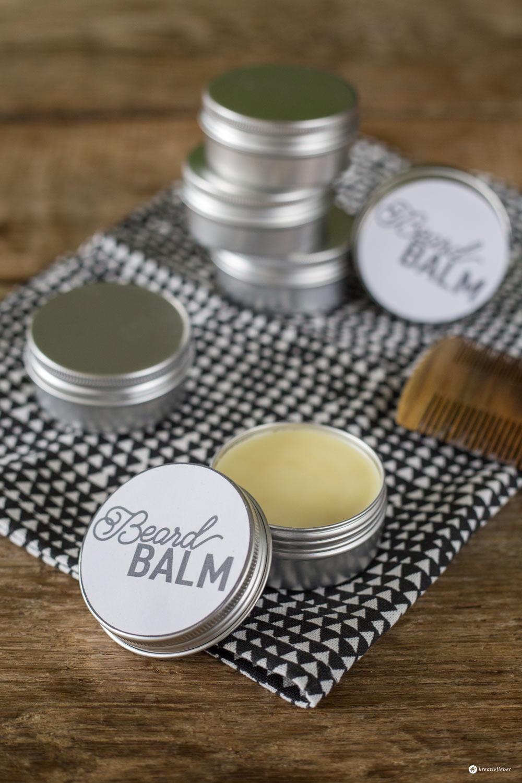 DIY Beard Balm - Bart Balsam selbermachen - Geschenke für Männer