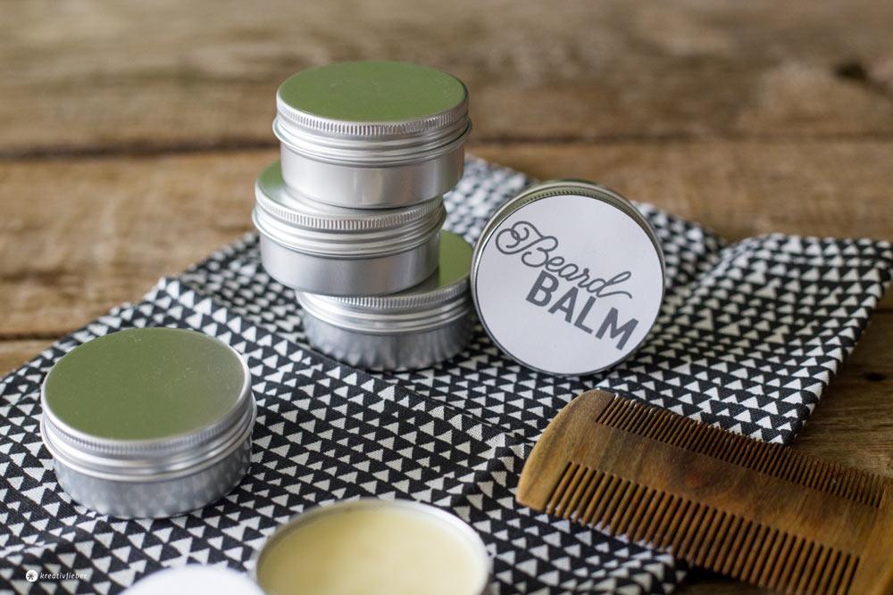 Geschenke für Männer selbermachen - Beard Bald DIY - Bartbalsam selbermachen