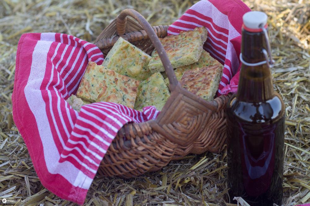 Zucchinibrot backen - Ideen für ein Sommerpicknick