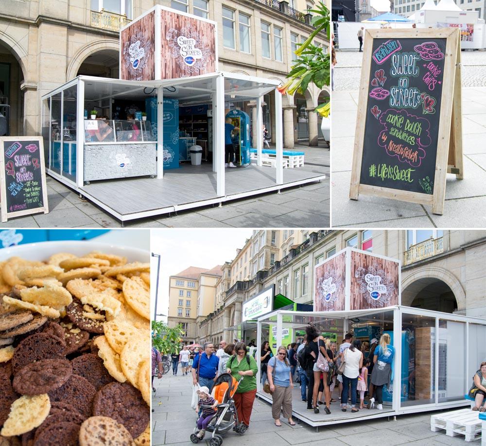 bahlsen Stand Dresden Stadtfest Kreativfieber