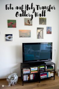 fototransfer auf holz gallery wall diy