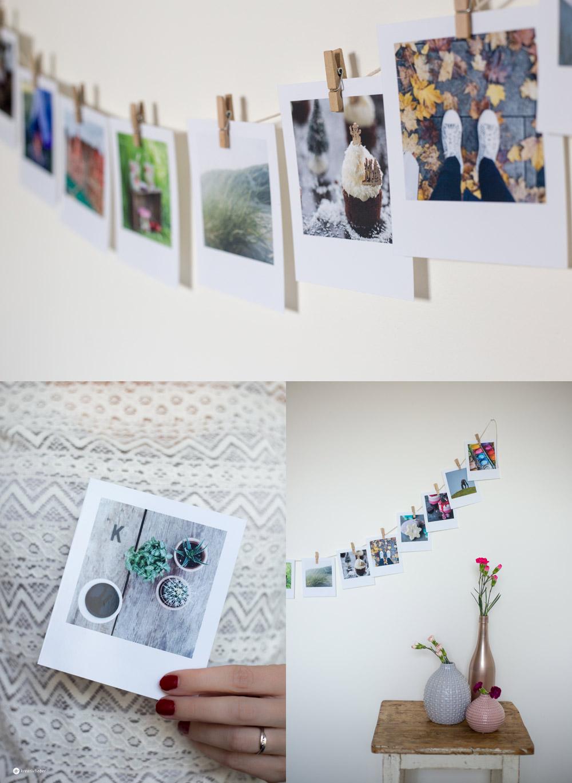 DIY Gutschein Girlande mit Polaroid Fotos selbermachen - DIY Fotogeschenke