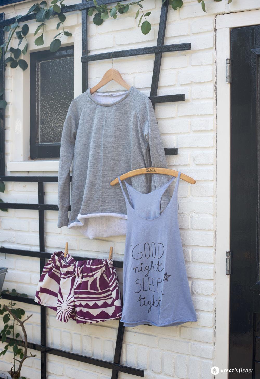 DIY Loungwear Set - Schlafanzug und Co. selbernähen