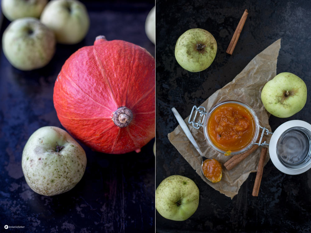 Kürbismarmelade Mit Apfel Und Ingwer - Geschenke Aus Der Küche