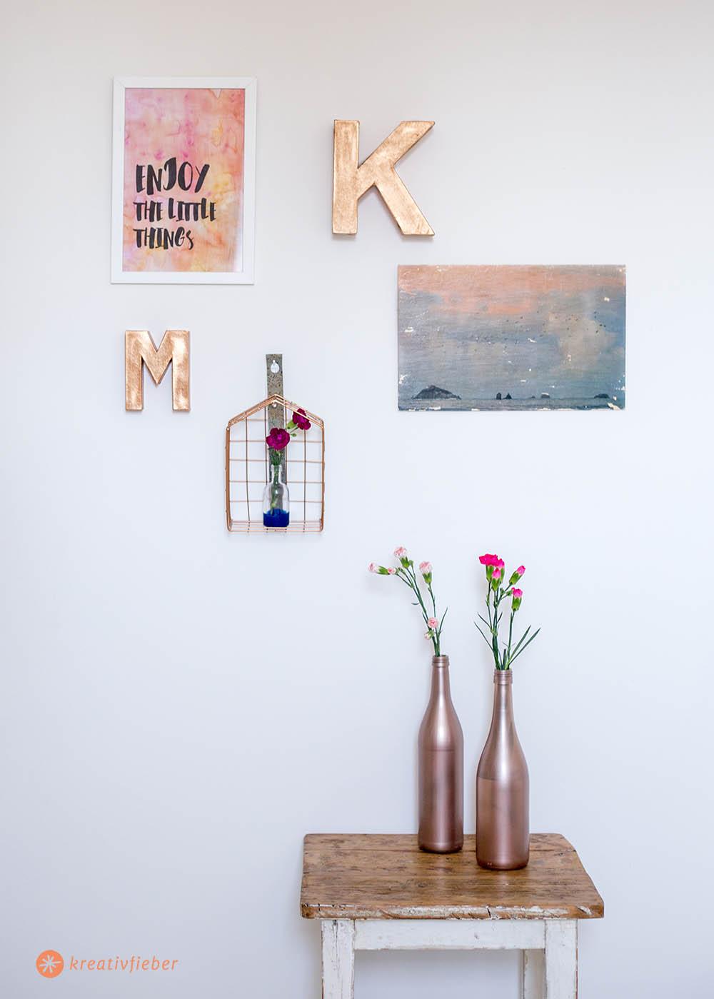 DIY Wanddeko mit Klebenägeln und Gewinnspiel und DIY Tutorials