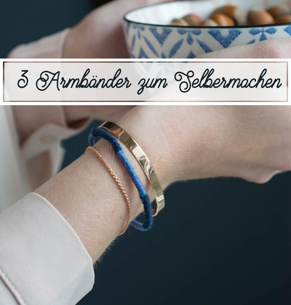 Anleitungen Armbänder flechten und stylen