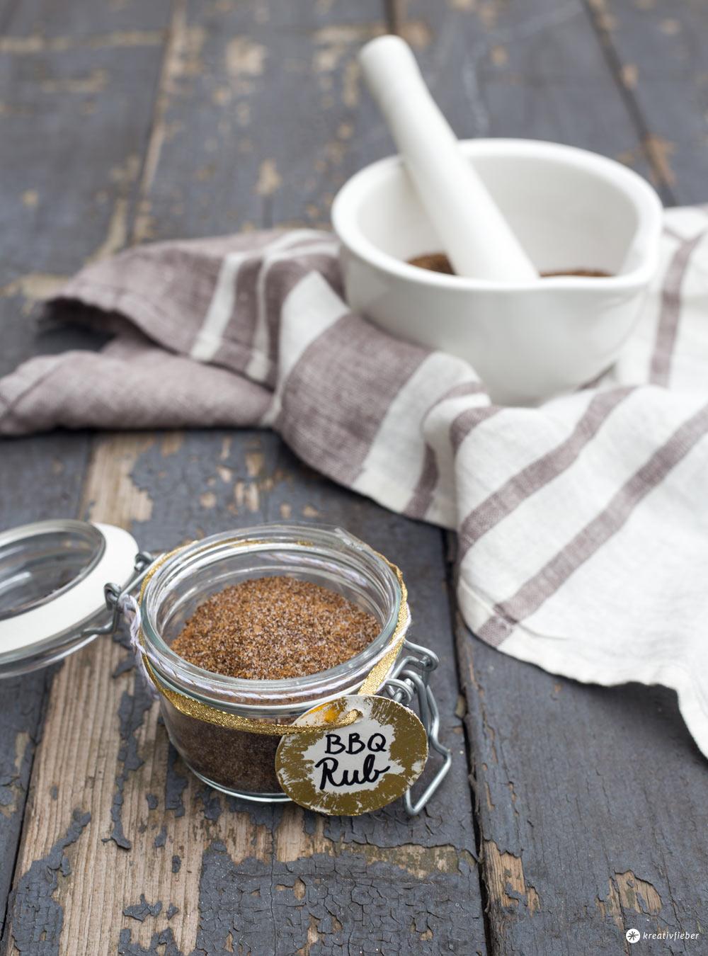 DIY BBQ Rub - Geschenke aus der Küche selbermachen - Geschenke für Männer