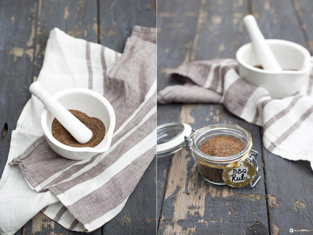 DIY BBQ Rub - Geschenke aus der Küche selbermachen - Geschenkidee für Männer