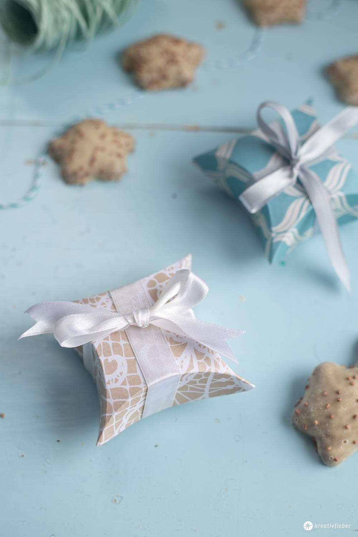 DIY kleine Geschenkschachteln falten - Schritt für Schritt Anleitung #12giftswithlove
