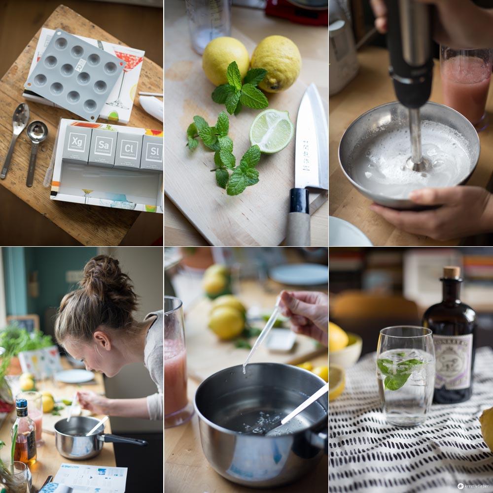 Experimentelle Drinks - Geschenktipps für Cocktailfans - Cocktail R-Evolution Set im Test