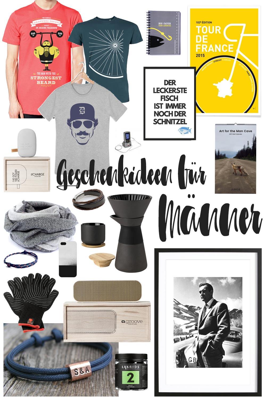 Geschenkideen für Männer 2016 - Die besten Tipps und Geschenke für den Mann, Freund, Bruder oder Vater