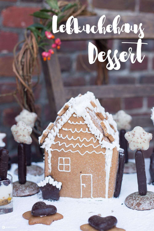 Lebkuchenhaus Dessertplatte für 15 Personen