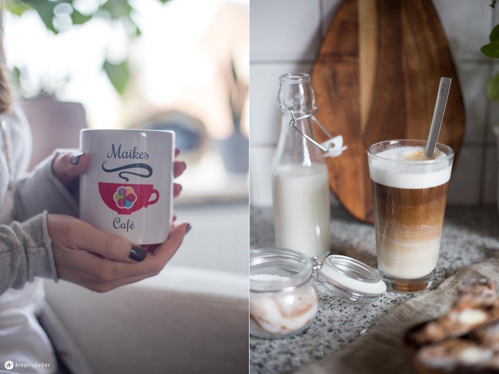 MachdeineigenesCafe mit Tassimo Vivy und Rezept für Kaffee Cantuccini Stangen