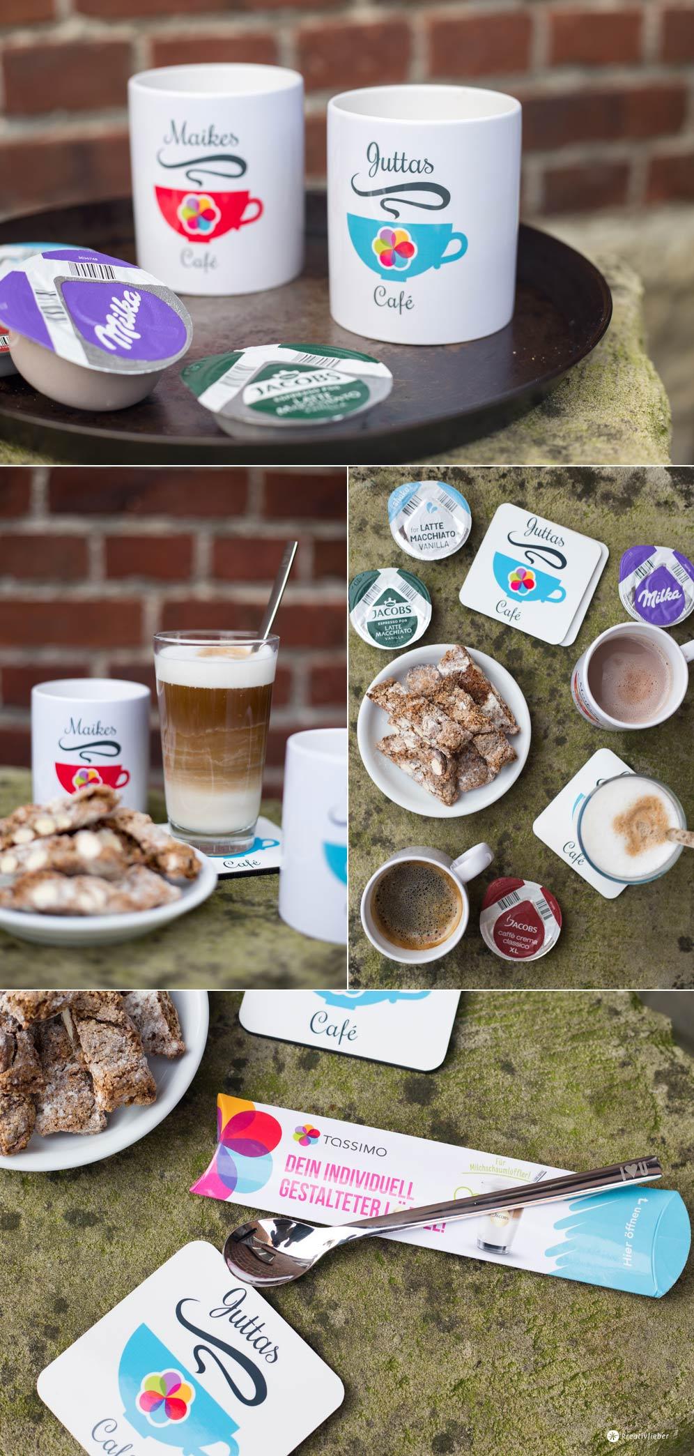 MachdeineigenesCafe mit Tassimo und Rezept für Kaffee Cantuccini Stangen
