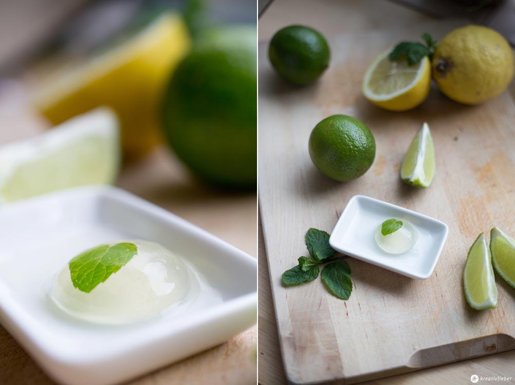 Molekulare Drinks - Geschenktipps für Cocktailfans - Mojito Spheren