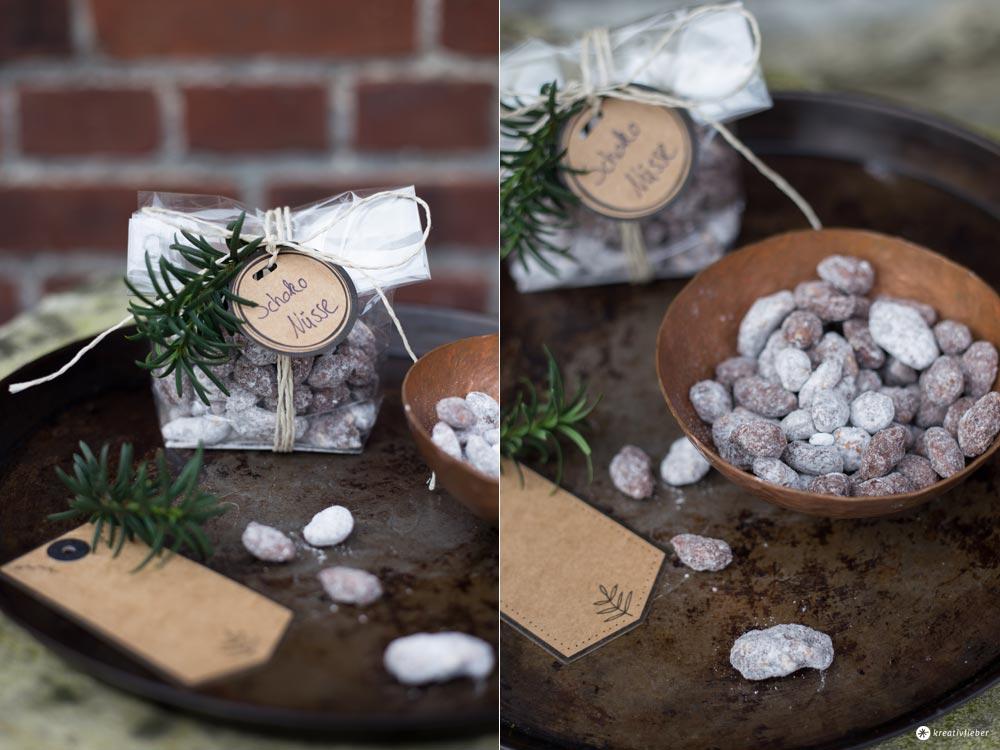 Schokonüsse selbermachen - Geschenke aus der Küche - kleines Mitbringsel - Kreativfieber