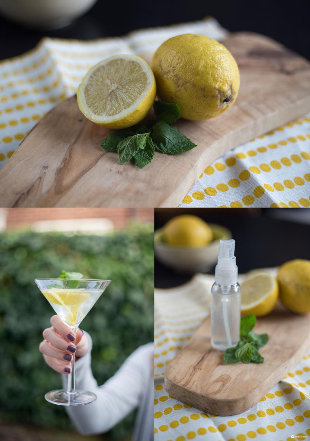 Skinfood im Test - Limoncello Deo und Drink - natürliche Kosmetik aus Lebensmitteln